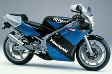 KAWASAKI  KR1-S ZUES BLUE/BLACK MODEL FULL  DECAL  KIT
