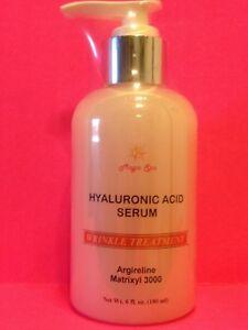 6oz-Pure-HYALURONIC-ACID-Serum-Matrixyl-Argireline-Anti-Aging-Wrinkles-Plumps