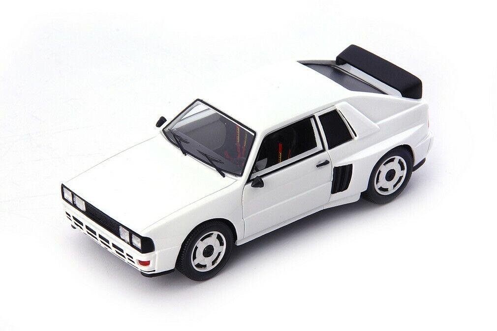 Audi quattro gr. b mittelmotor predotype white-Germany 1985 1 43 autocult