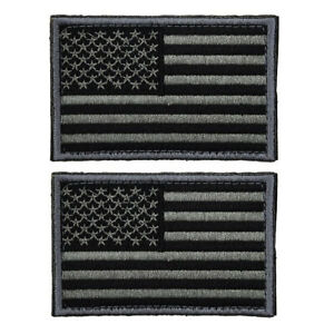 2pcs-Tactical-USA-Flag-Patch-Self-Adhesive-American-Flag-US-United-States