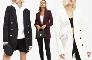 Miss 8 12 3 Longline 6 colori 4 10 Selfridge Taglie Military 14 jacket Blazer rB7r58xq
