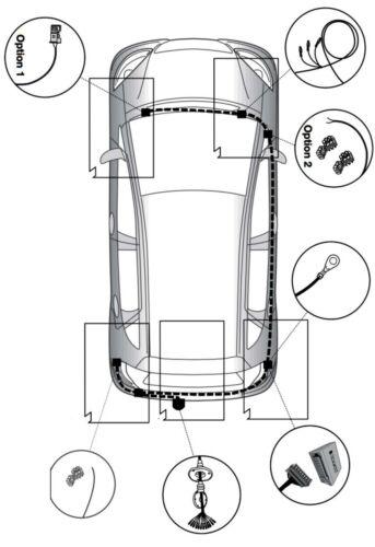 AutoHak gancio di traino rimovibile per MERCEDES GLA x156 con 13pol specifico