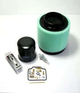 POLARIS RANGER 500 2004-2006 TUNE UP KIT Oil Air Fuel Filter Carb Spark Plug