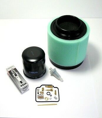 Oil Air Spark Plug POLARIS MAGNUM 425 /'95-/'98 Tune-up Kit Fuel Carburetor