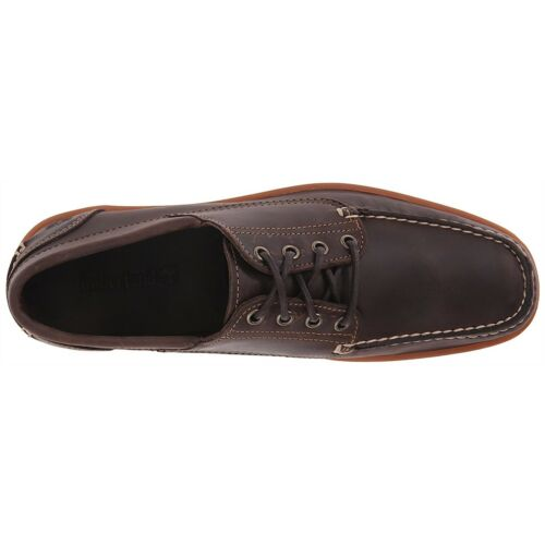 Timberland Men Casual Shoes Odelay 4 Eye Camp Moc Oxford Shoes Dark Brown