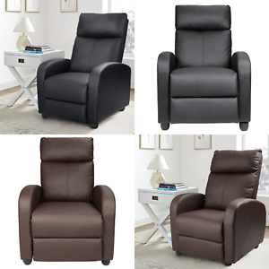 Details about Recliner Chairs Living Room Modern Sofa RV Wall Hugger Home  Furniture Footrest