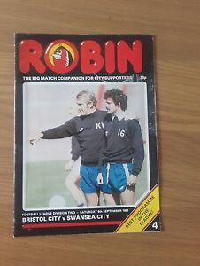 BRISTOL CITY V SWANSEA CITY 6TH SEPTEMBER 1980 DIVISION TWO SWANS PROMOTED - Swansea, United Kingdom - BRISTOL CITY V SWANSEA CITY 6TH SEPTEMBER 1980 DIVISION TWO SWANS PROMOTED - Swansea, United Kingdom