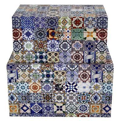 NEW Swann Imports Moroccan Storage Box (Set of 2)