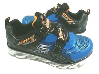 2 NO BOX 1 New Skechers Erupters II Youth Boy light up Sandal US Size 11 12