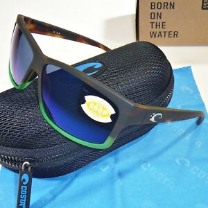 06cae9fa18b9 Image is loading Costa-Del-Mar-Cut-Polarized-Sunglasses-Matte-Tortuga-