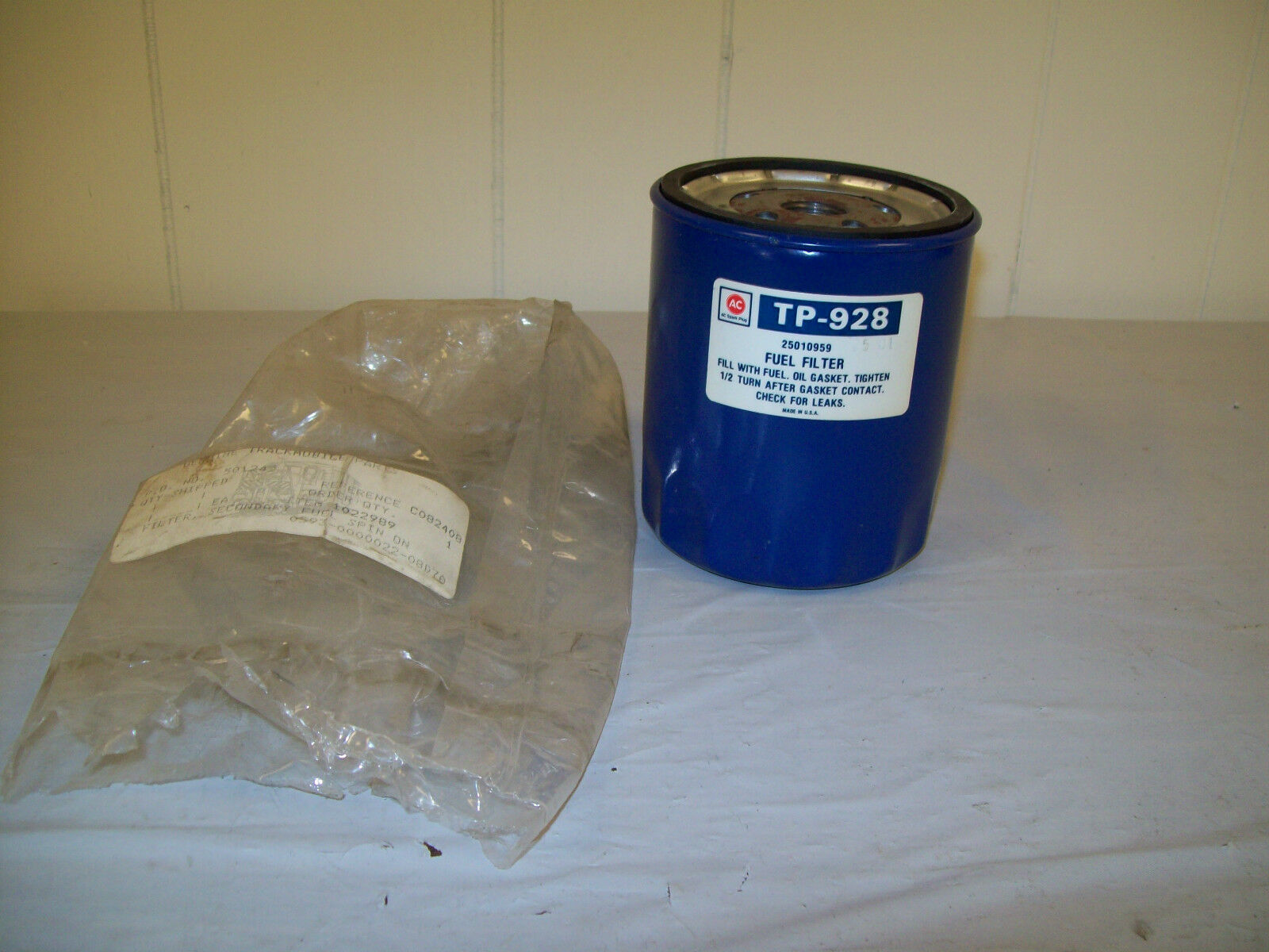 Ac Fuel Filter Tp 928 928f 25010959 Wix 33122 Ebay Wrap Norton Secured Powered By Verisign