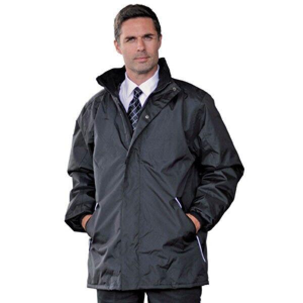 RT100 Impermeable a prueba de viento Chaqueta de abrigo para hombre de trabajo Negro Marina Alto Grande 4XL 5XL 6XL