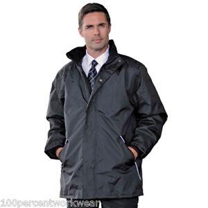 RT100-Mens-Work-Waterproof-Windproof-Jacket-Coat-Black-Navy-Big-Tall-4XL-5XL-6XL