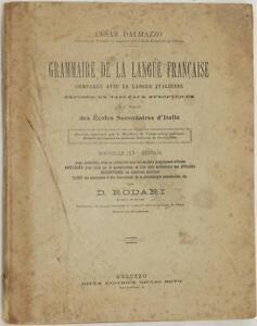 CESARE-DALMAZZO-GRAMMAIRE-DE-LA-LANGUE-FRANCAISE-LINGUA-FRANCESE-GRAMMATICA-1900