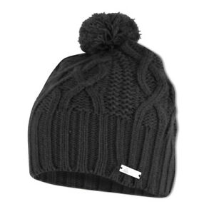 c67eeb63de33b4 ADIDAS Golf Womens Winter Beanie Hat - 2 Colours - ladies pom ...