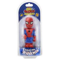 Marvel Body Knocker Spiderman Figure Toys Bobble Head Neca Solar Powered