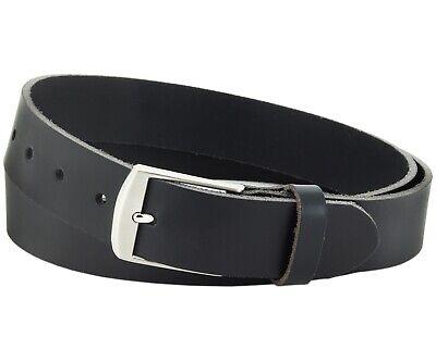 Büffel Ledergürtel 3,5 Cm Herren Damen Belt Echt Voll Leder Gürtel Schwarz Nr.19 Phantasie Farben