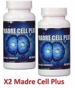 X2 Unid MADRE CELL PLUS CELLS STEM ALIVE, CELULAS MADRES