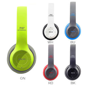 Auriculares-Headphones-Profesional-Gaming-P47-Wireless-Bluetooth-Stereo-HQ