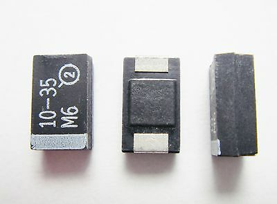 20x 10uF 50V SMD ELKO Panasonic #0E09