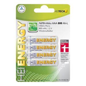 Heitech-NiMH-Akku-034-Ready-to-Use-034-HR03-Micro-AAA-800-mAh-1-2V-Akkus