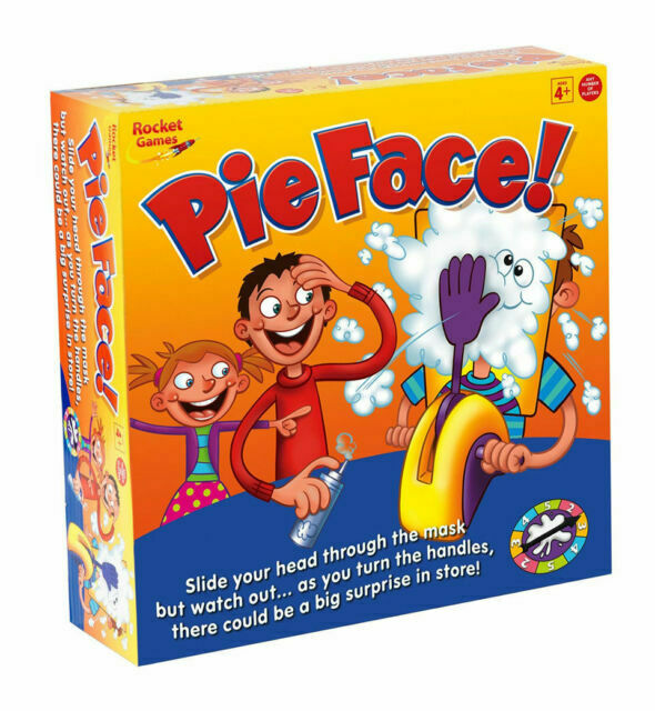 Toys Rocket Modern Game Perfect Gift Pie Face Sky High Family Fun Game