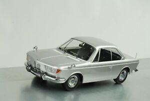 Bmw 2000 Cs Coupé 1965 Jusqu'à 1970 Karmann Argent,échelle 1:18 Kk Scale Diecast