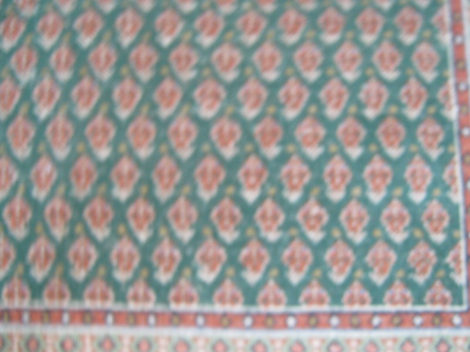 Area Rug ,4' X 6' , Indo Persian ,Transitional Rug ,Ser