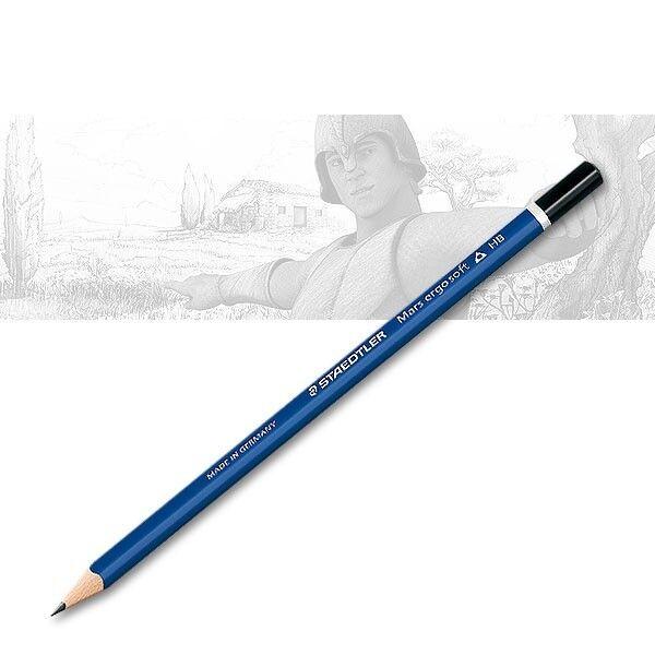 HB Mittel STAEDTLER Bleistift  Mars Lumograph Härtegrad
