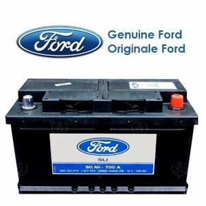 Car battery genuine Ford SILVER CALCIUM 315x175x175 80ah 700a