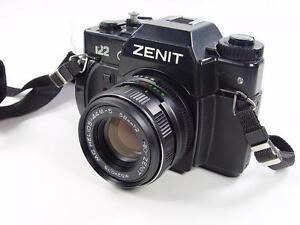 exc 35mm film camera zenit 122 mc helios 44m 5 2 58mm s n