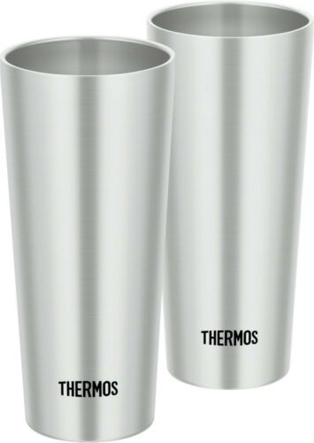 ThermosTumbler vacuum insulation Stainless Cup 2pcs Set JDI-400P 400ml