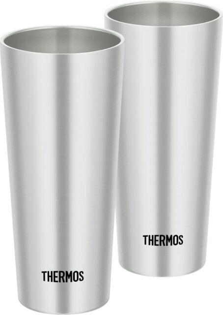 Thermostumbler Aspirateur Isolation Inoxydable Tasse 2pcs Set JDI-400P 400ml