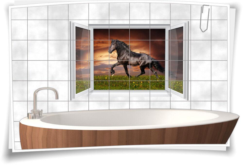 Wc Bad Reiten Hengst Pferd Aufkleber Fliesen Fliesenbild