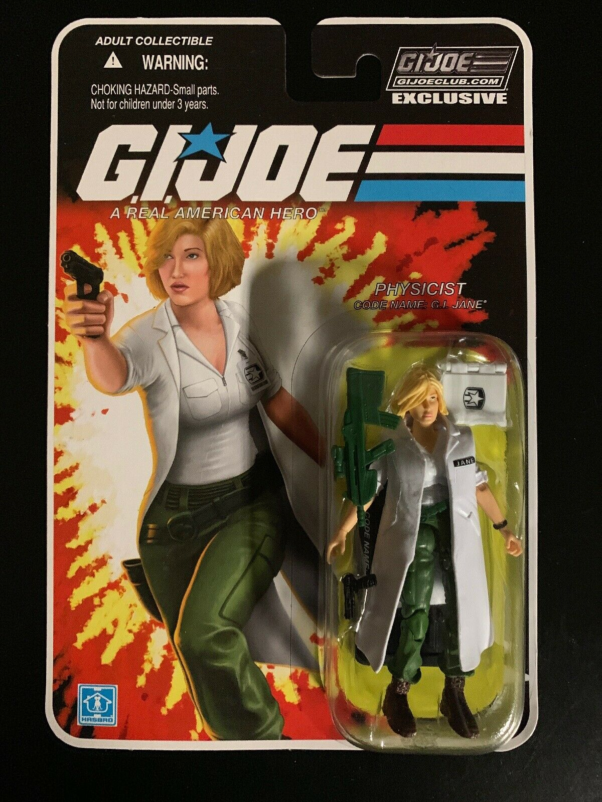 GI JOE FSS 5.0 13 G.I. Jane GIJOE Physicist MISP