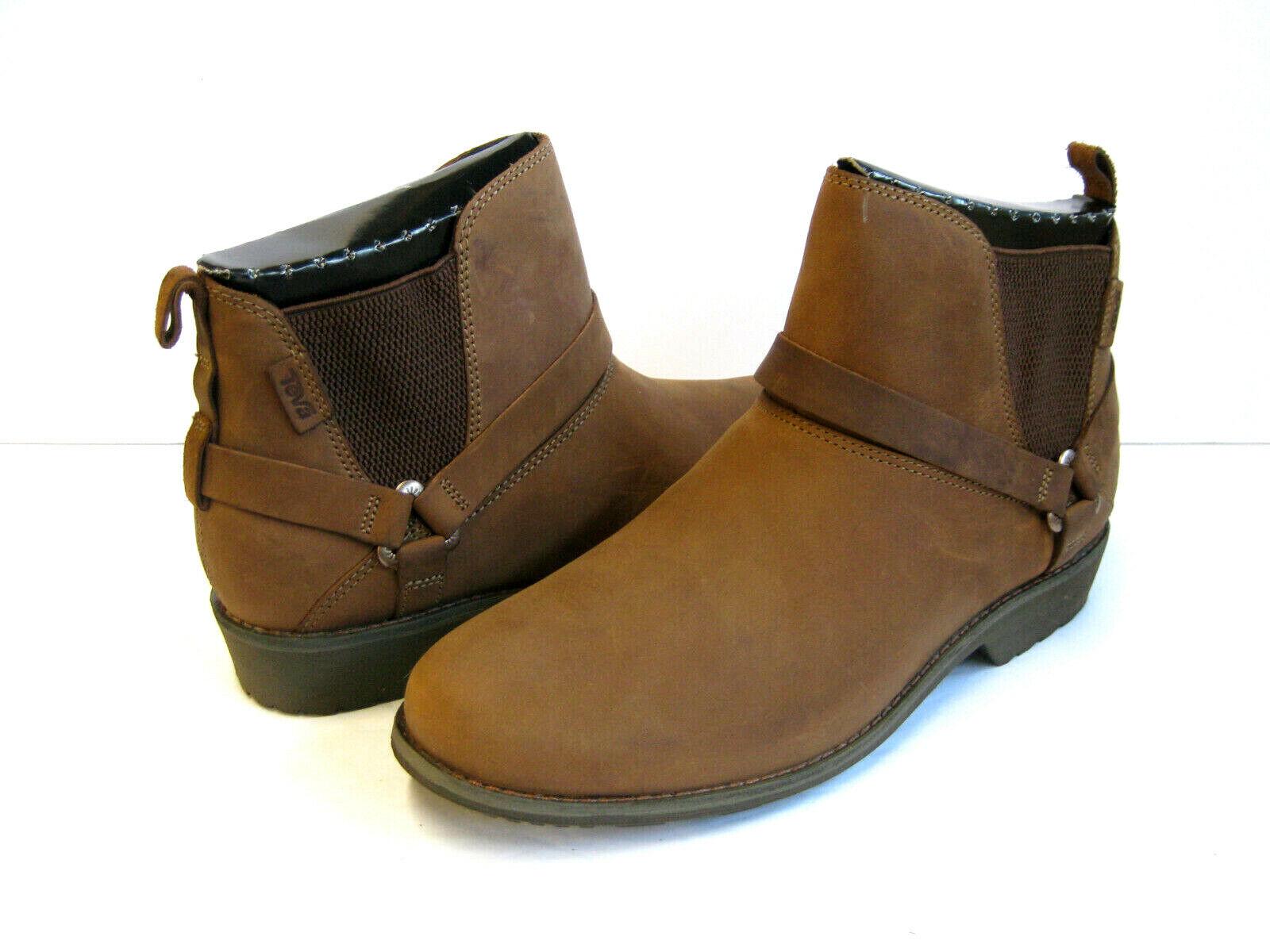 TEVA DE LA VINA DOS CHELSEA WOMEN ANKLE BOOTS BOOTS BOOTS BISON US 10  UK 8  EU 41 fe186c