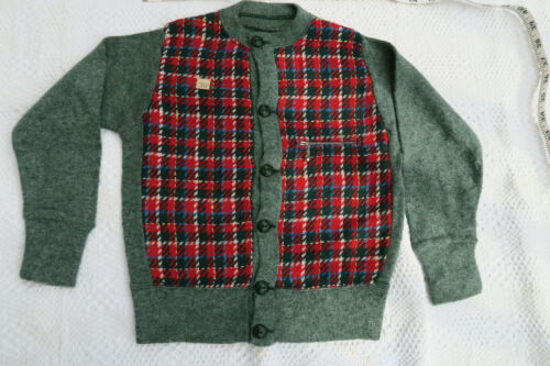 RARE * DEAD STOCK 1930s Childs VINTAGE SWEATER  ZI