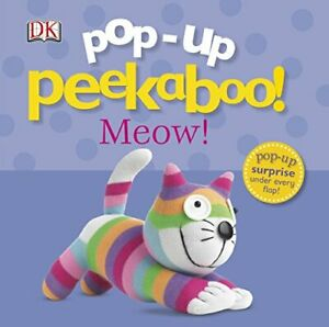 Pop-Up-Peekaboo-Meow-Pop-Up-Book-by-DK-NEW-Book-FREE-amp-Fast-Delivery-Boar