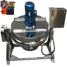 Electric Jacketed Kettle 265 Gallon Capacity 220v 3 Phase Jam Soup Heater