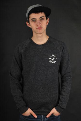 Pullover Cleptomanicx Sweatshirt Crewneck Sweater Black Cruiser gxCCqYvO