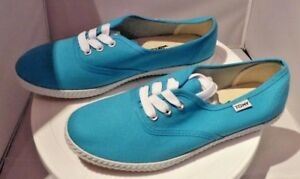 Genuine Tomy Takkies Canvas Flats in Turquoise Uk 5 free P/&P to Uk Mainland
