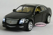 Free shipping 1:32 Cadillac CTS Alloy Diecast Model Car Sound&Light Black B324