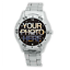 Men-039-s-Personalised-Stainless-Steel-Photo-WristWatch-Add-Your-Photo-On-Watch-Face thumbnail 1