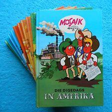 MOSAIK Digedags AMERIKA Serie Amerikaserie 10 Bücher Hannes Hegen Junge Welt DDR