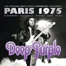 DEEP PURPLE (ROCK) - LIVE IN PARIS 1975 [DIGIPAK] (NEW CD)