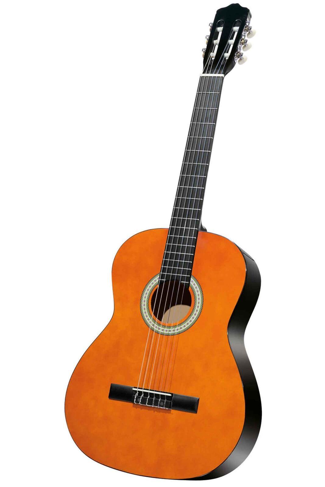 Konzert Gitarre Gitarre Gitarre 6 teilig Musik Gerät Instrument Einsteiger Anfänger Tasche Neu ae6d71