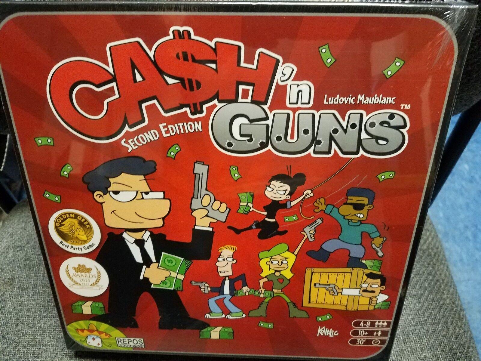 Cash n'Pistolen - Repos Productions Spiele Brettspiel Neu
