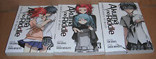 Akuma no Riddle Riddle Story of Devil Vol.1,2,3 Manga Graphic Novels English