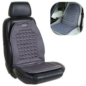 Details About Car Seat Pad Cushion Universal Orthopaedic Massage Back Protector Van Taxi Uk