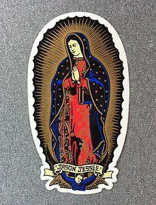 Santa Cruz Jason Jessee Guadalupe Skateboard Sticker 6in si
